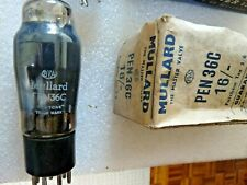 PEN36C  Mullard  Valve Tube  New  Old Stock 1pc  AUG19F