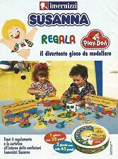 X0847 Invernizzi Susanna regala Play-Doh - Pubblicità del 1995 - Advertising