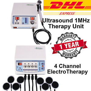 Ultrasound Therapy & Electrotherapy Combination Physical Pain Relief Therapy UNT