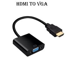 Salida HDMI de entrada para cable VGA Convertidor Adaptador Para Apple Tv Monitor Dvd Xbox
