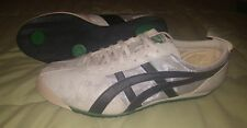 Vintage Rare Onitsuka Tiger by Asics Fencing LA 84 Sneakers 12 White-Silver Shoe