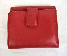 Mercedes-Benz Bi-Fold Leather Wallet Red
