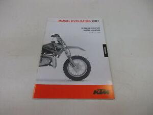 Ktm 50 Mini Superior 2007 Manual de Instrucciones D Utilisation 3.211