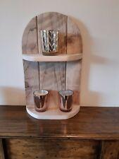 Handmade Reclaimed Wood Shelf