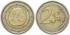 2 EURO COMMEMORATIVA ITALIA 2009 EMU UNIONE ECONOMICA MONETARIA MOLTO RARA