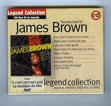THE VERY BEST OF JAMES BROWN CD (NEW) LEGEND COLLECTION