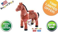PonyCycle Medium Country Color No Electric Kid Powered Ride On Toy Horse 4-9 Yr