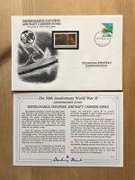 DANBURY MINT WORLD WAR 2 WW2 JAPAN 1994 FDC US USA JAPANESE AIRCRAFT CARRIER