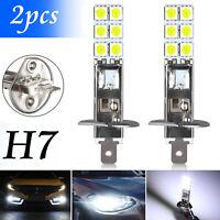 2x H1 6000K Super White 55W CREE LED Headlight Bulbs Kit Fog Driving Light Lamp