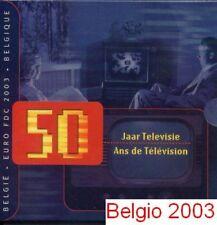 2003 BELGIO 8 monete 3,88 EURO belgique belgien belgica Belgium Бельгия 比利时 ベルギー