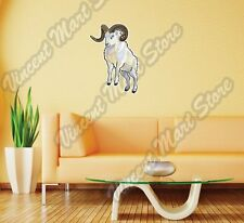 "Dall Sheep Arctic Wild Animal Wall Sticker Room Interior Decor 18""X25"""