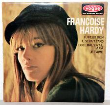 """7"""" Vinyl FRANCOISE HARDY - Tu Peux Bien / Je T´aime / Il Se Fait Tard"""