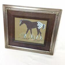 Beatien B. Yazz Grazing Horse Navajo Original Gouache Painting Signed Watercolor