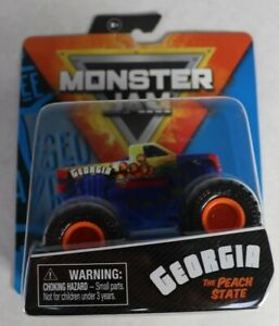 Spin Master Monster Jam Georgia The Peach State 1/64 New