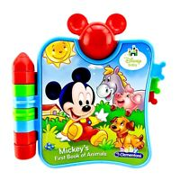 Disney Baby Mickeys First Book Of Animals Baby Clementoni Electronic Toy Reading