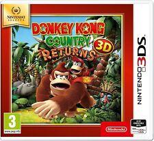 Donkey Kong Country Returns 3D UK/EU 3DS (NEU & VERSIEGELT)