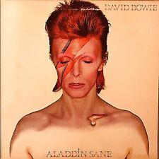"DAVID BOWIE ""Aladdin Sane"" Vinyl LP - 1973 1st US Press RCA LSP-4852 EX / EX"