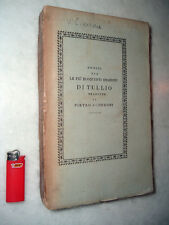 1825 - Orazioni di CICERONE - Catilina, Verre, Filippiche