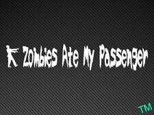Zombies Ate Mi pasajero coche divertido, van Sticker Decal
