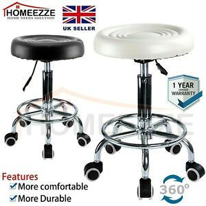 ADJUSTABLE BEAUTY MASSAGE STOOL STYLING HAIRDRESSING BARBER SALON  MANICURE CHAI