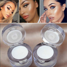 2 in1 Eye Make Up Face Brighten Highlighter Shining Shimmer Powder Pigment White