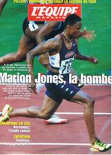 L'EQUIPE MAGAZINE  N°851  1998  marion jones  athletisme
