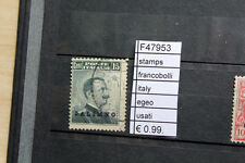 FRANCOBOLLI STAMPS ITALY EGEO USATI (F47953)