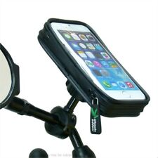 "Waterproof Bike Scooter Mirror Mount Holder for iPhone 6S (4.7"")"