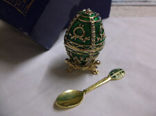 Atlas Edition Decorative egg with spoon - boxed