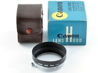 Genuine Canon Metal Lens Hood for 50mm f/1.4 Leica L39 Lens from Japan Exc+