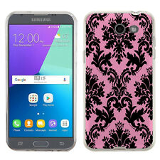 TPU Phone Case for Samsung Galaxy J3 Prime / Amp Prime 2 - Victorian Pink
