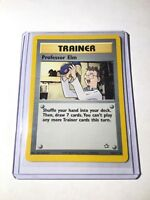 PROFESSOR  ELM - Neo Genesis Set - 96/111 - Uncommon Unlimited Pokemon Card - NM