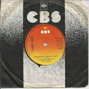 "Johnny Nash - Tears On My Pillow 7"" Vinyl Single 1975"