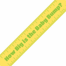 Unique Baby Shower Game Tummy Bump Measure Tape Novelty Occasion Party Celebration Gift