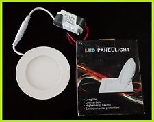 Spot Encastrable LED Downlight Panel Extra-Plat 4W Blanc Froid