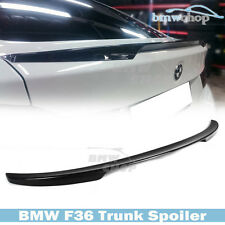 STOCK IN USA ▶ Carbon Fiber BMW 4-Series F36 4D Gran Coupe P Type Trunk Spoiler
