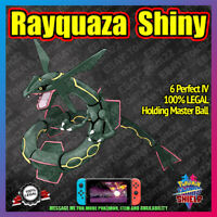 Shiny RAYQUAZA | Crown of Tundra | 100% Legal | 6IV |  Pokemon Sword Shield