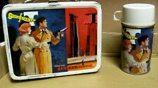 Vintage 1968 Secret Agent Metal Lunchbox W/ Thermos by King-Seeley C=8