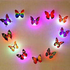 Glowing Paster Wall Stickers Room Home Decor Butterfly Office Ornament Art