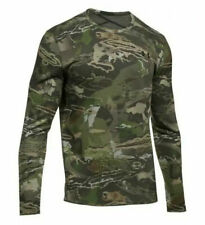 Under Armour Mid Season Reversible Wool Base Crew Shirt Forest 1297423-943 XL