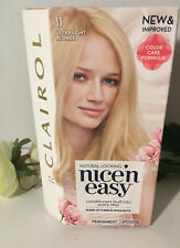 1 Clairol Nice 'n Easy Permanent Hair Dye #11 Ultra Light Blonde, NEW & SEALED