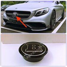 BRABUS  Style GRILL BADGE Fits Mercedes Benz W205 W204 C217 W212 W166 w222 coupe