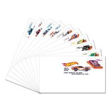 USPS New Hot Wheels Digital Color Postmark (set of 10)