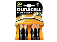 Set di 16 Batterie AA Duracell Plus Power Stilo