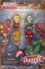Iron Man Dr Doom Thing Deadpool Erasers Marvel Comics 67713