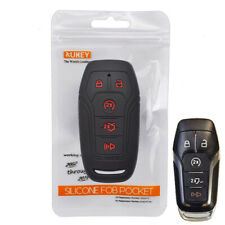 5 Buttons Silicone Key Fob Cover Remote Case For Ford F-150 Explorer Edge Fusion