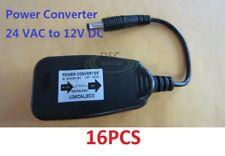 Wholesales Qty(16pcs) 24 VAC to 12 VDC Power Reducer Converter Adapter