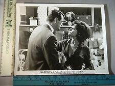 Rare Original VTG Rock Hudson Claudia Cardinale Blindfold Movie Photo Still