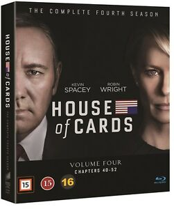 House of Cards The Complete Season 4 Digipack (Region A,B) Blu Ray