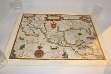 Vintage The New World Map 1600 24x18